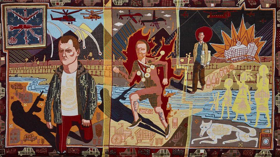 Line of Departure (2014 © Grayson Perry)
