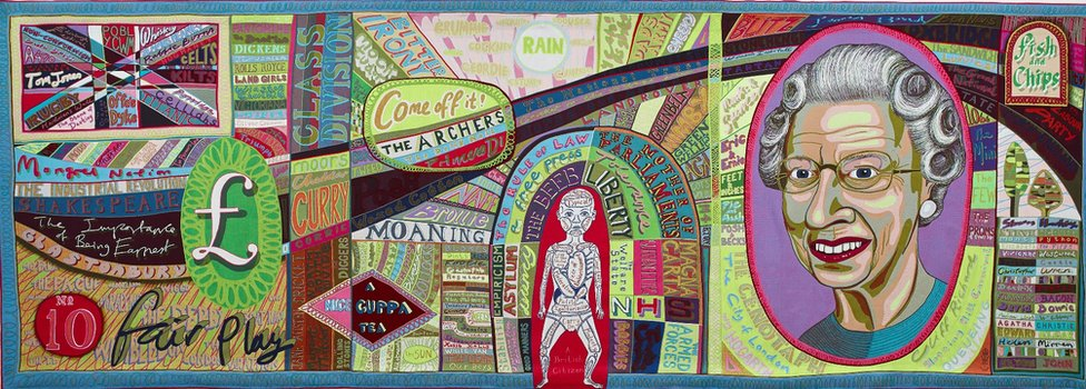 Comfort Blanket (2014 © Grayson Perry)