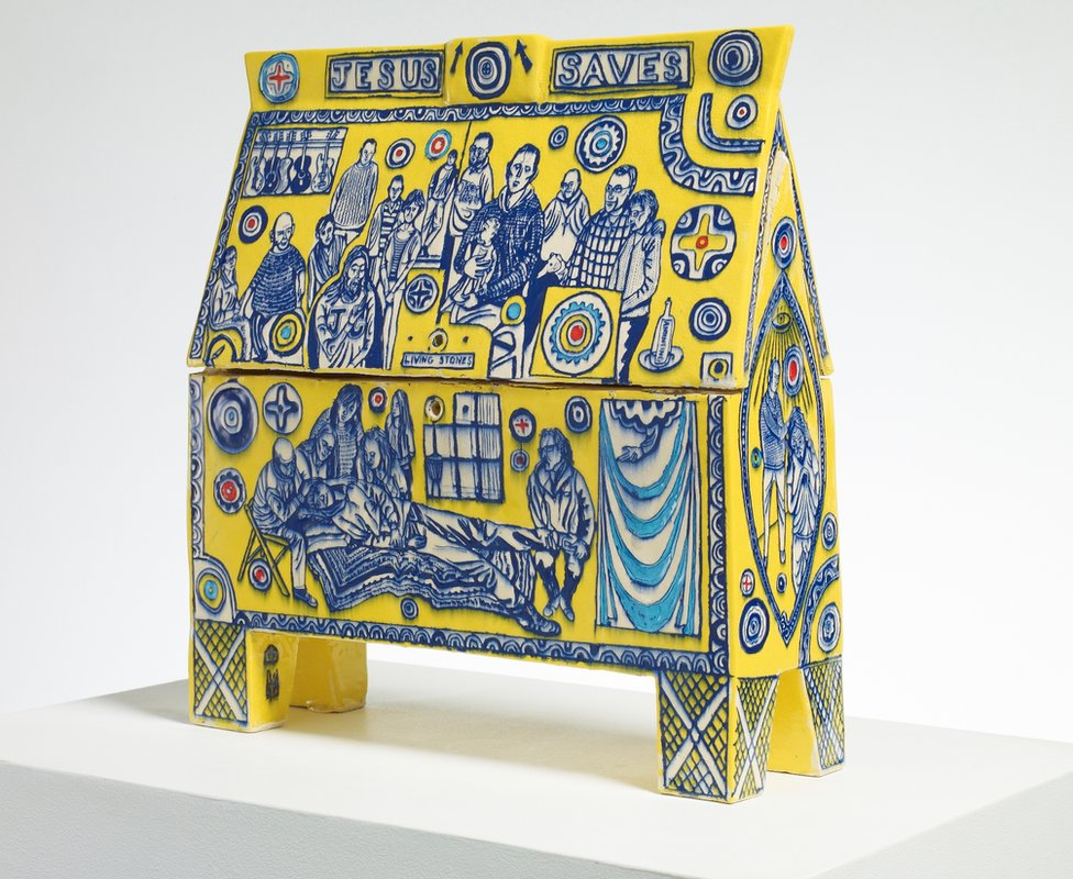 Jesus Army Money Box (2014 © Grayson Perry)