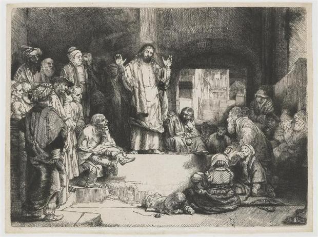 Christ Preaching (1652)