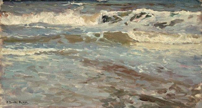 Joaquín Sorolla. Estudio de mar, Valencia. 1904. © Fundación Museo Sorolla