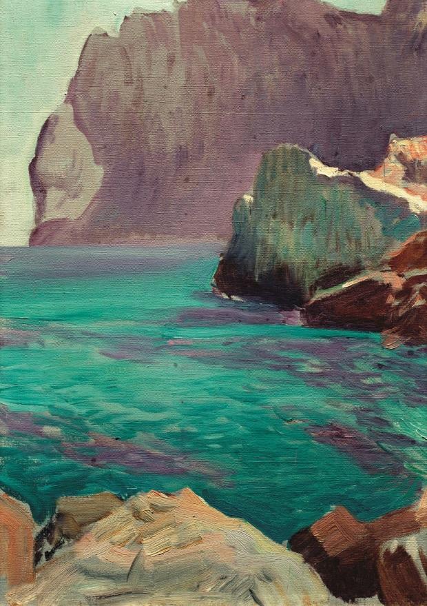 Joaquín Sorolla. Cala de San Vicente, Mallorca. 1919. © Fundación Museo Sorolla