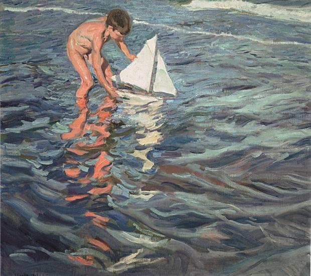 Joaquín Sorolla. El balandrito, 1909. © Fundación Museo Sorolla