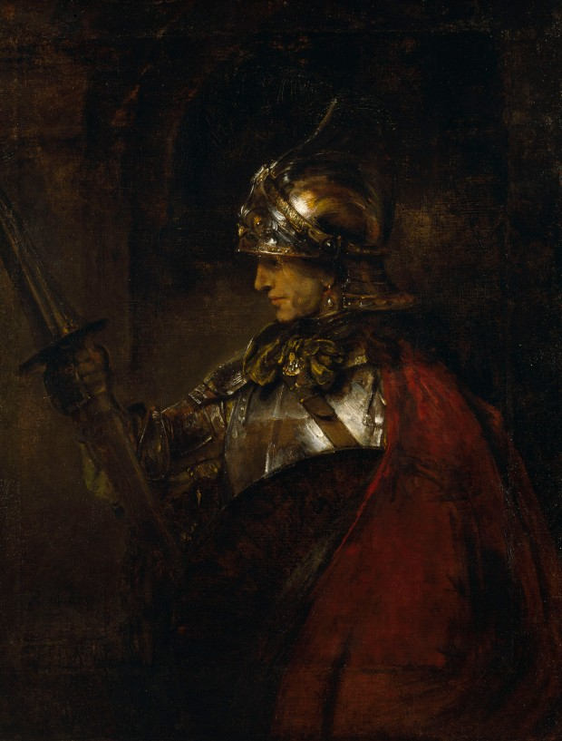 A Man in Armour (Alexander the Great?) 1655