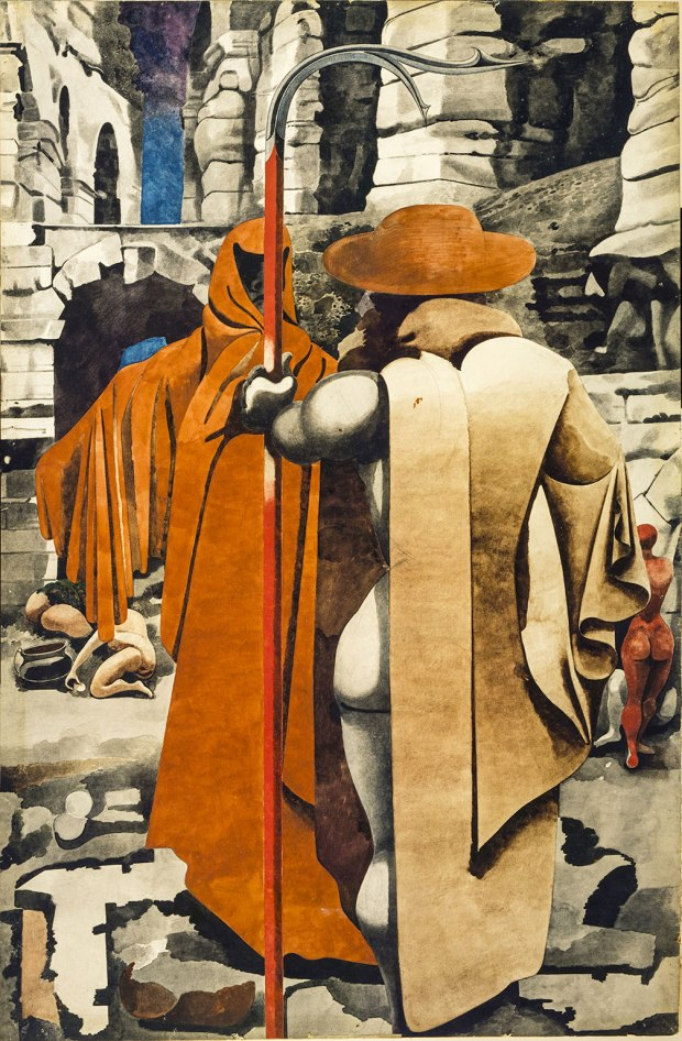 Edward Burra, The Watcher (1937)