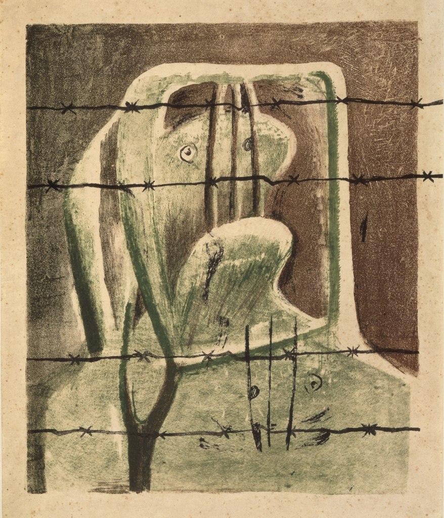 Henry Moore, Spanish Prisoner (1939)