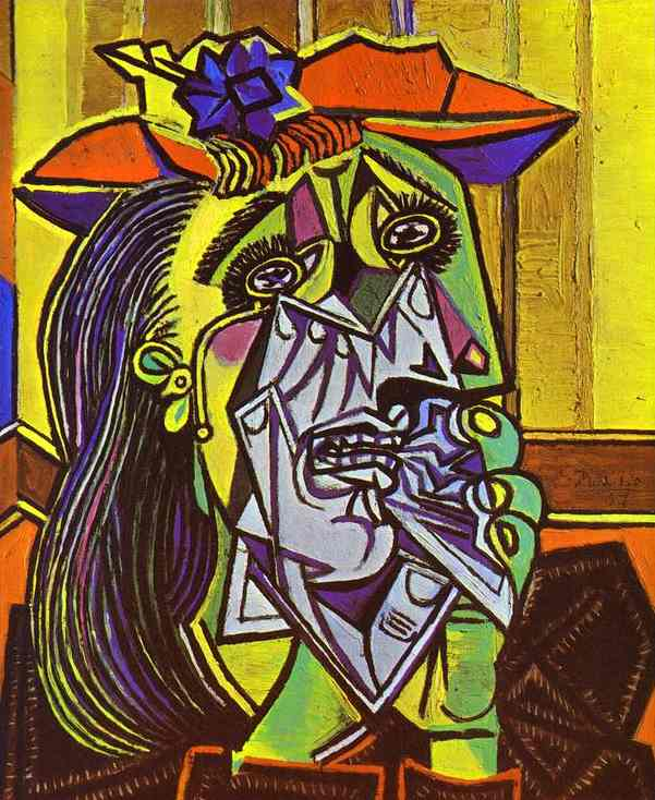 Pablo Picasso, Weeping Woman (1937)