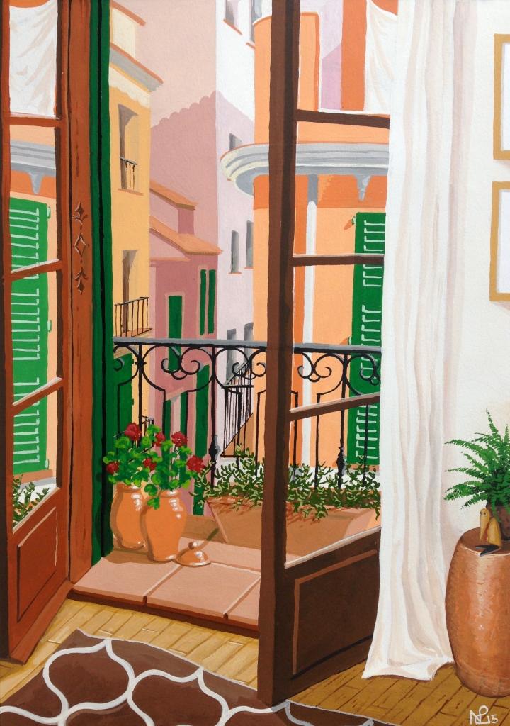 Ocho Balcones (No.1): From the bedroom