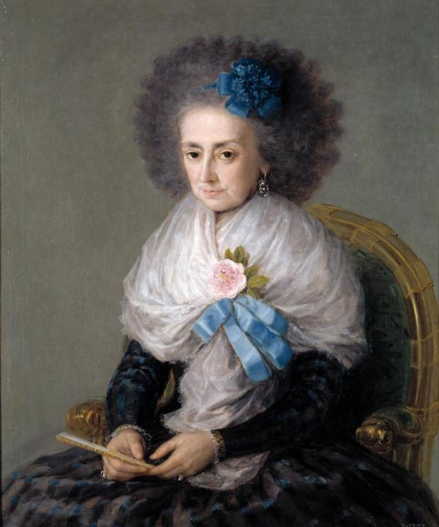 The Dowager Marchioness of Villafranca, 1796