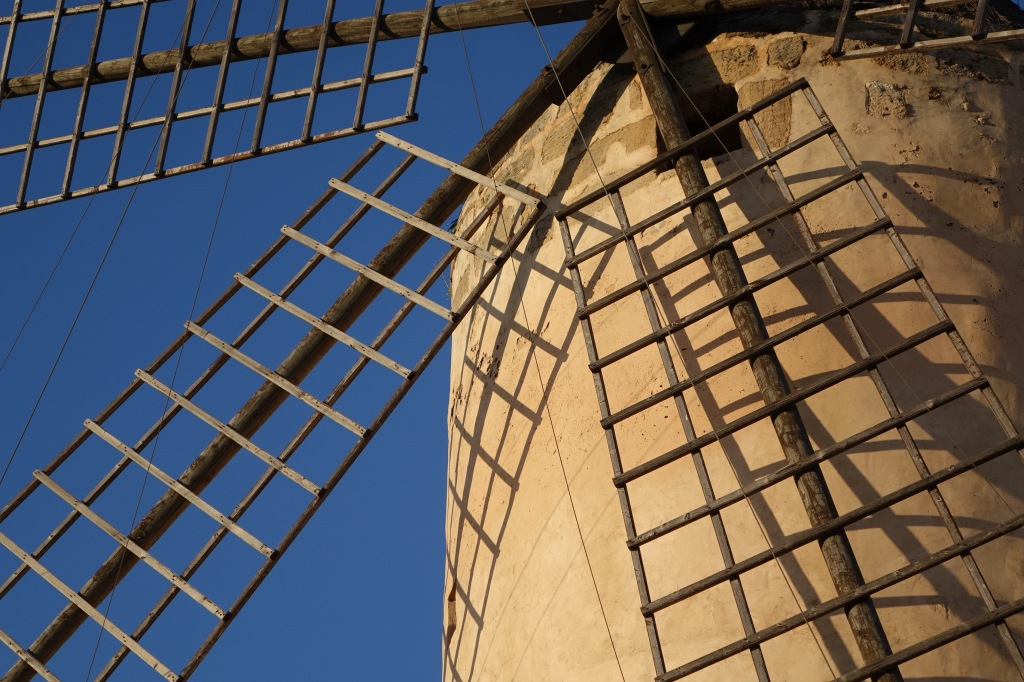 One of Mallorca's many windmills