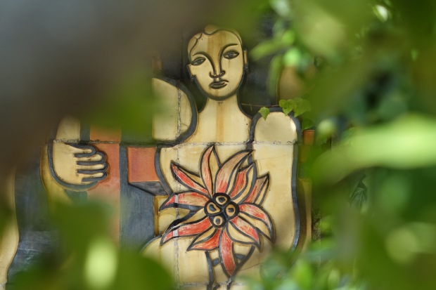 Leger mural at La Colombe d'Or
