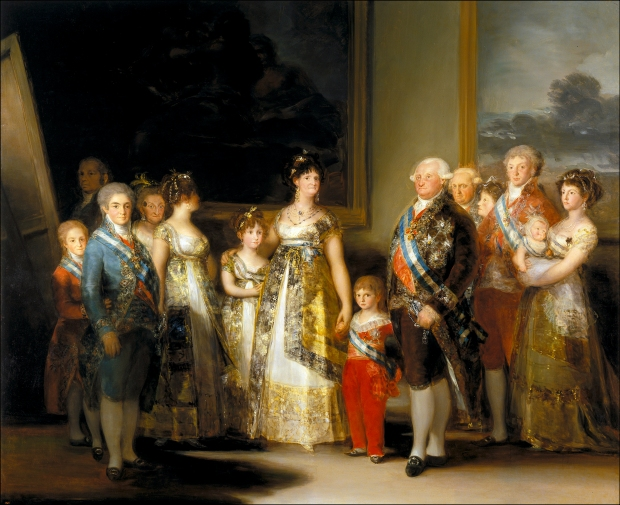 Carlos IV of Spain and His Family, 1800