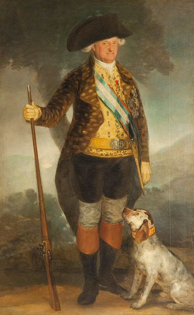 Charles IV in Hunting Dress, 1799
