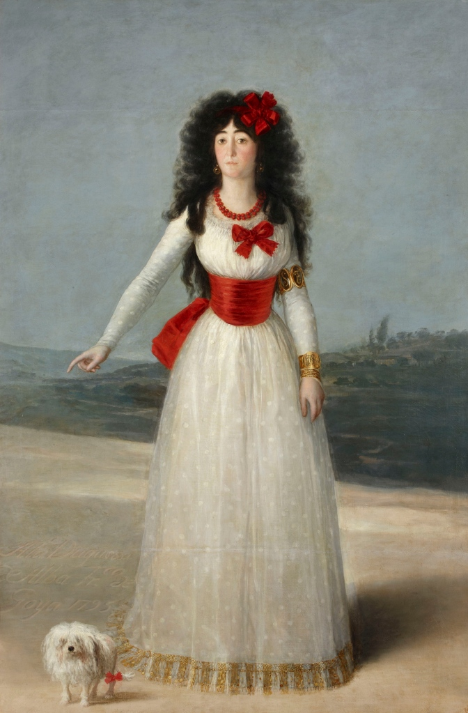 The White Duchess (Duchess of Alba), 1795