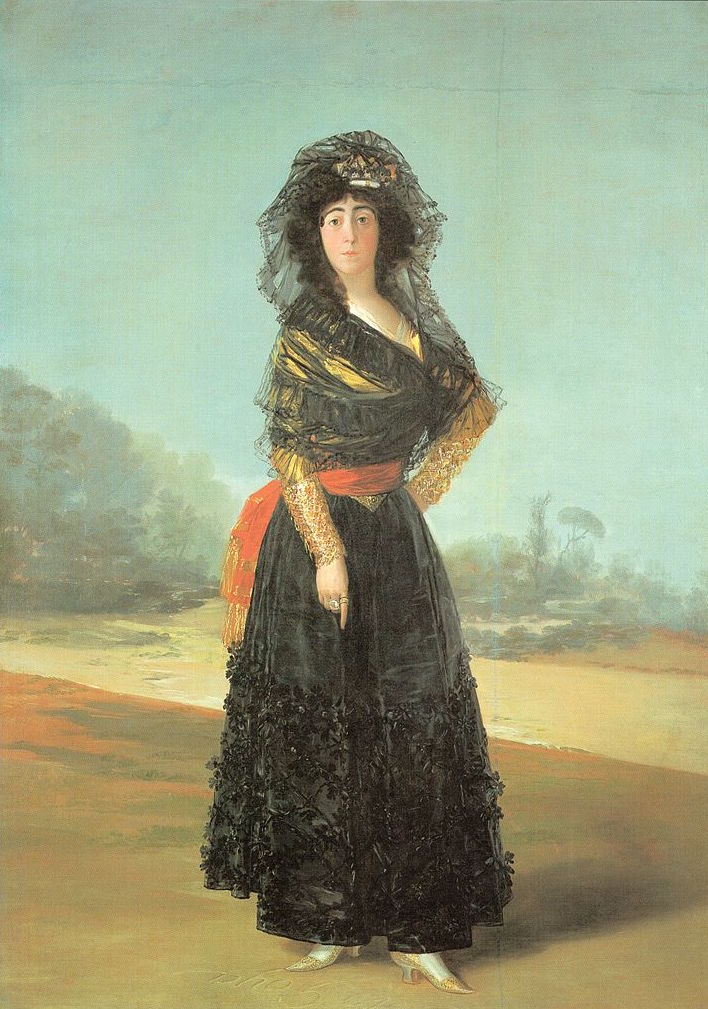 Portrait of the Duchess of Alba, 1797