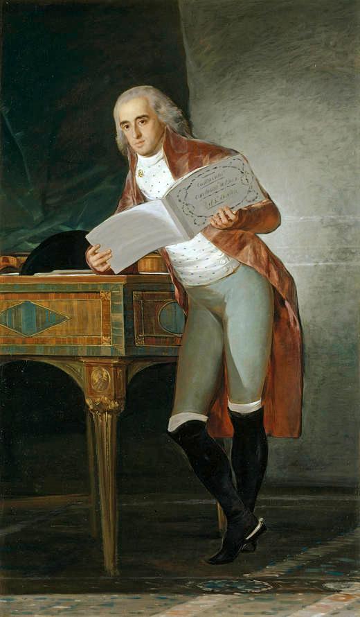 The Marquis of Villafranca and Duke of Alba, 1795