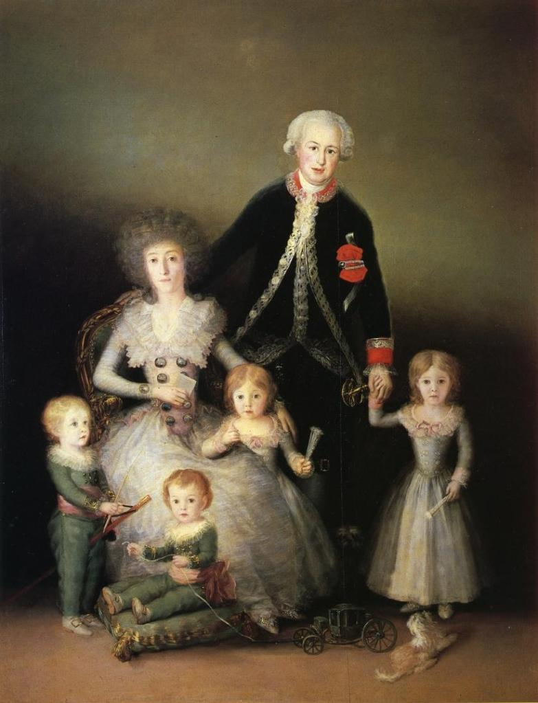 The Duke and Duchess of Osuna and their Children, 1788