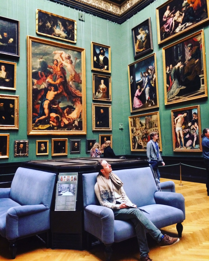 Almost unable to take in the breadth of art at the Kunsthistoriches Museum