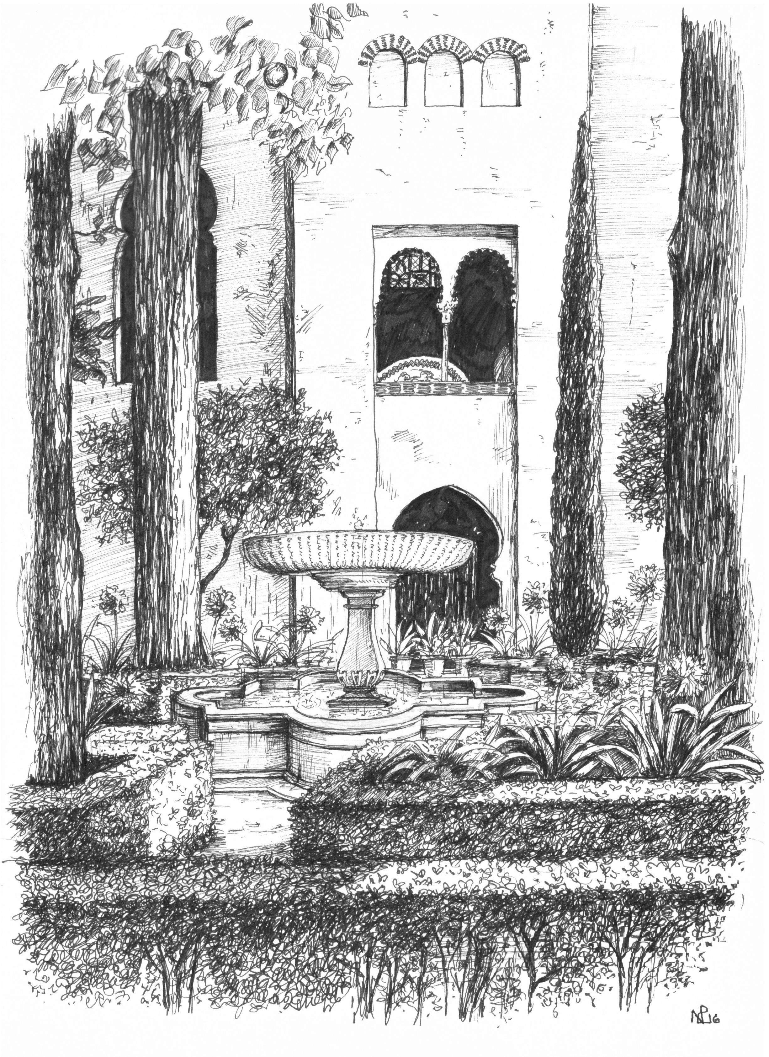 Granada Garden Alhambra