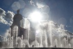 Dancing fountain, Barcelona