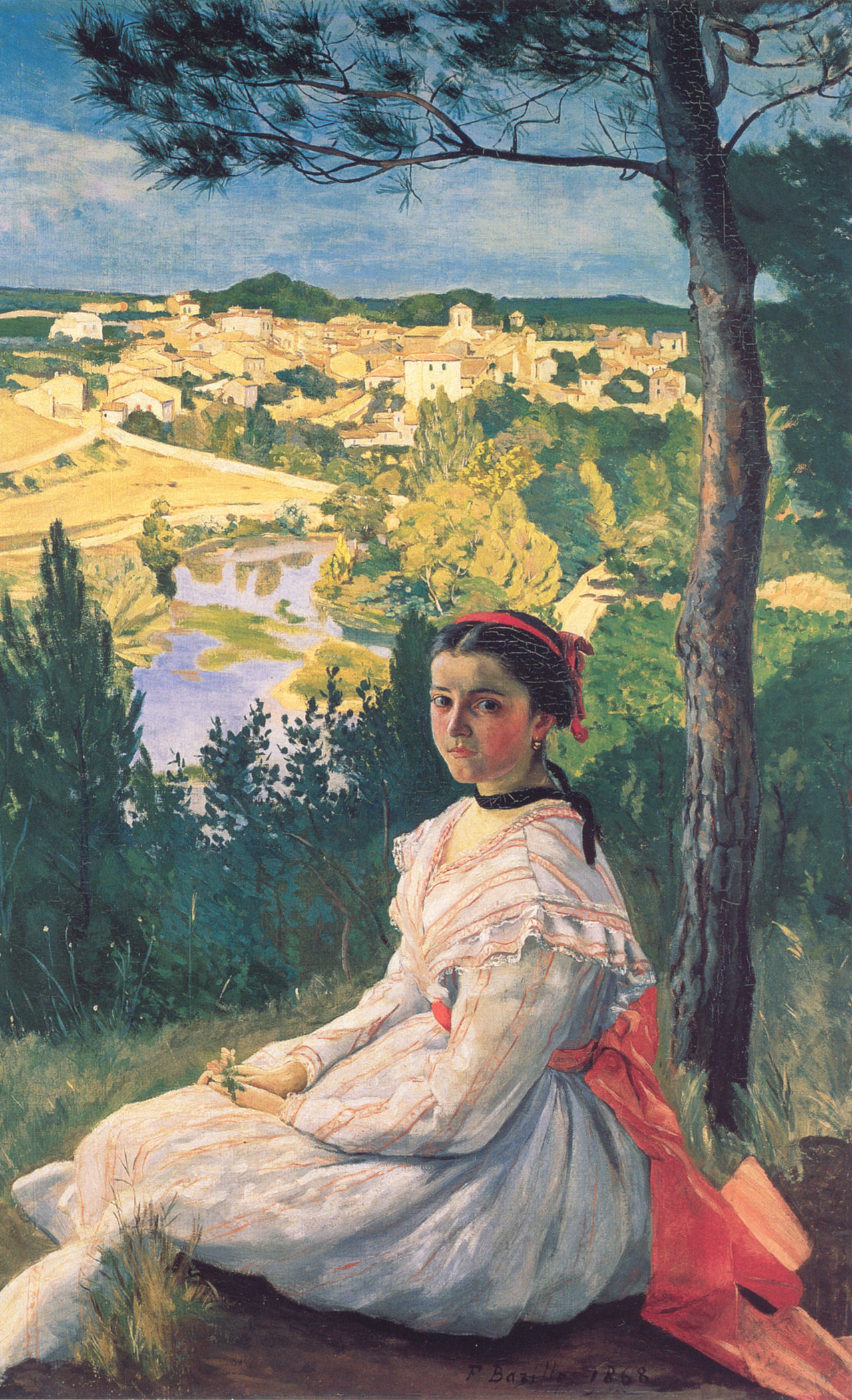 bazille_view_of_the_village