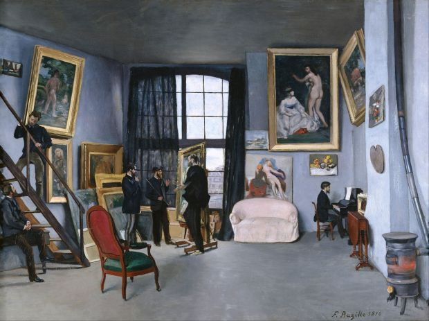 frederic_bazille_-_bazilles_studio_-_google_art_project