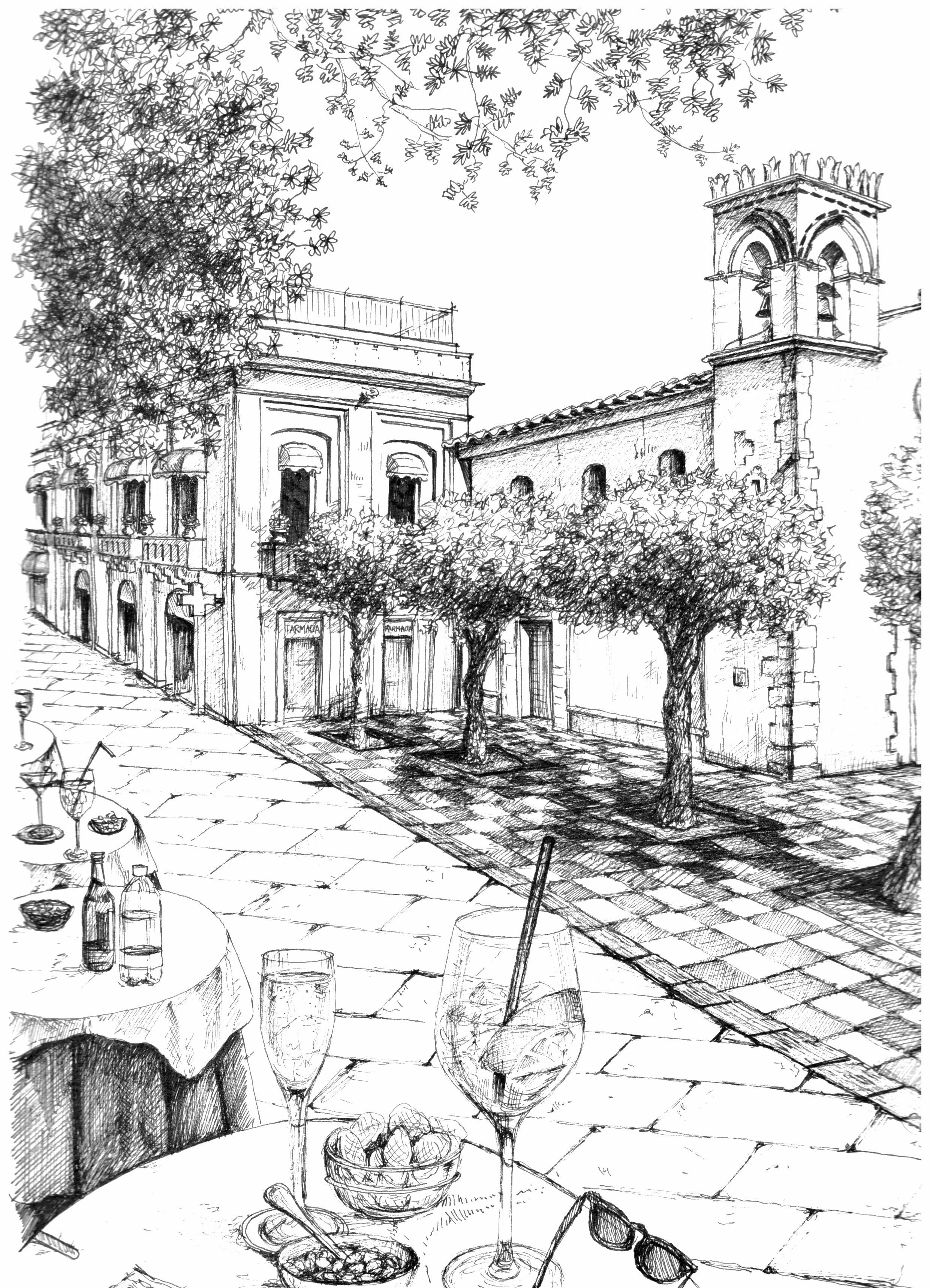 Taormina Sketch