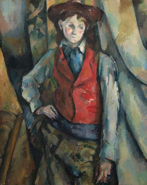 Boy in a Red Waistcoat 1888-9