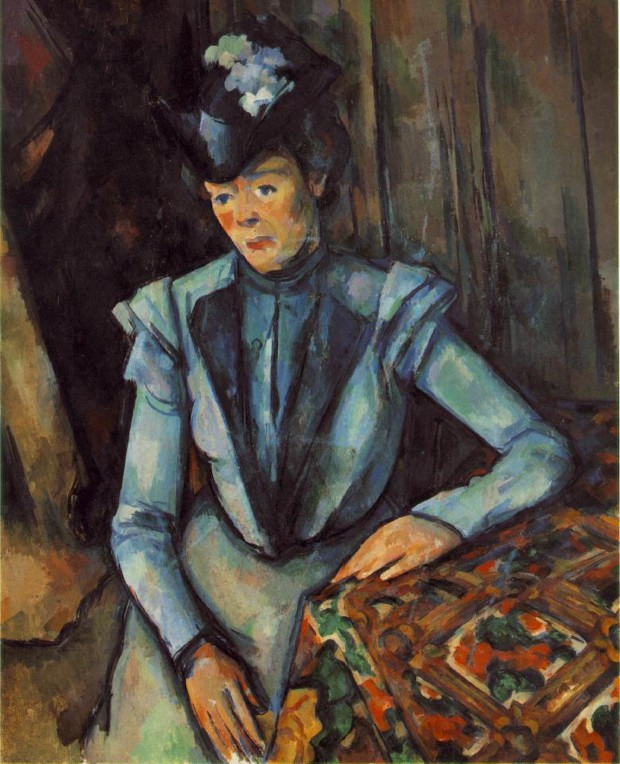 Seated Woman in Blue 1904