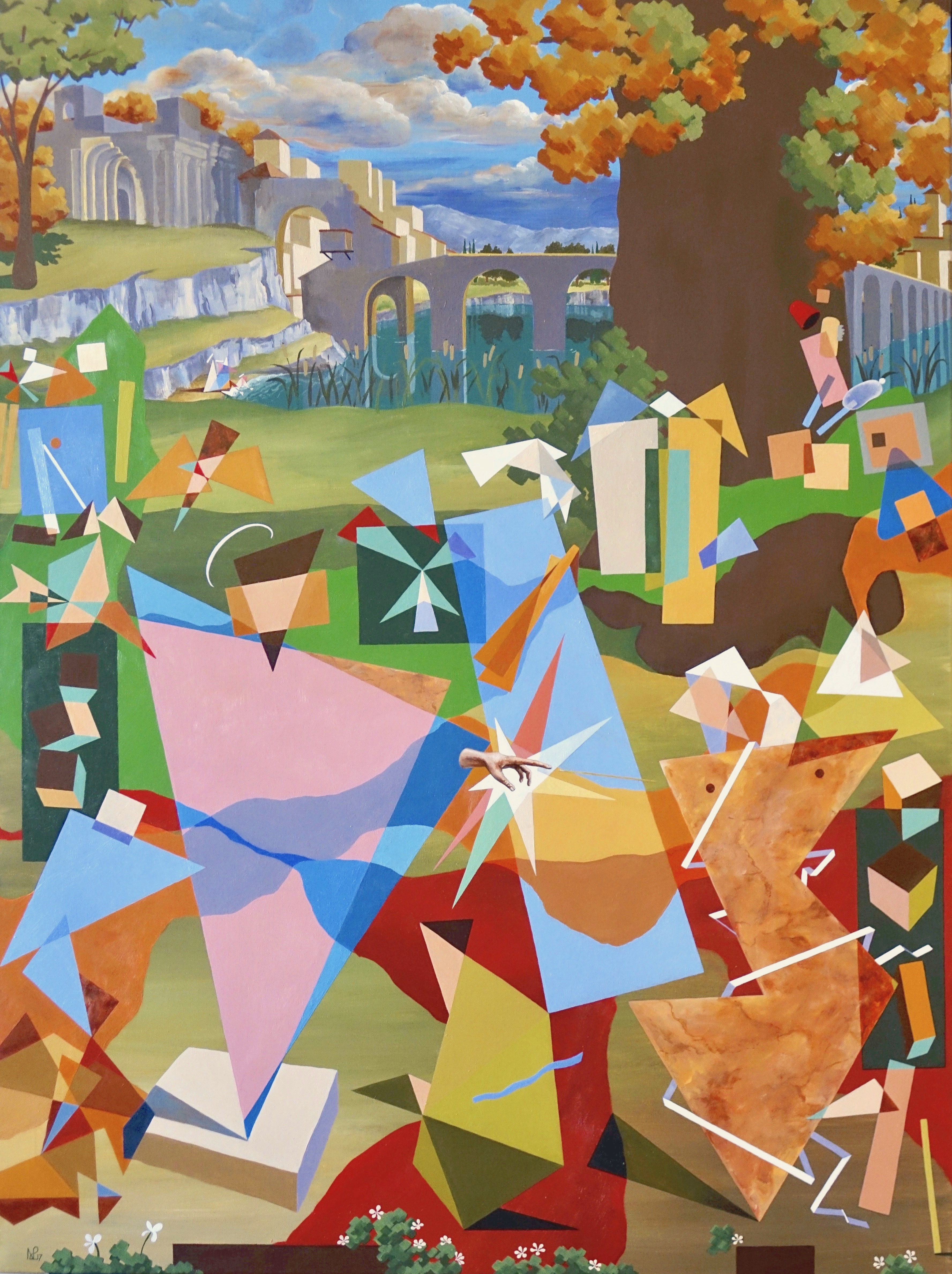 War on canvas guernica history repeating itself the daily norm featured painting buycottarizona Gallery