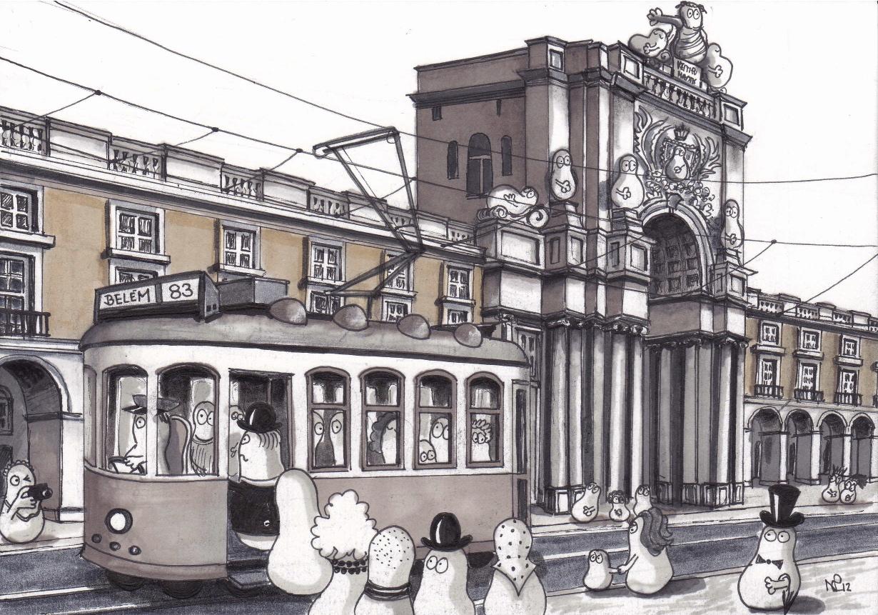 Lisbon Norms Trams