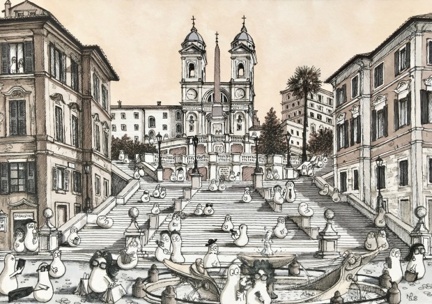 Spanish Steps Norms