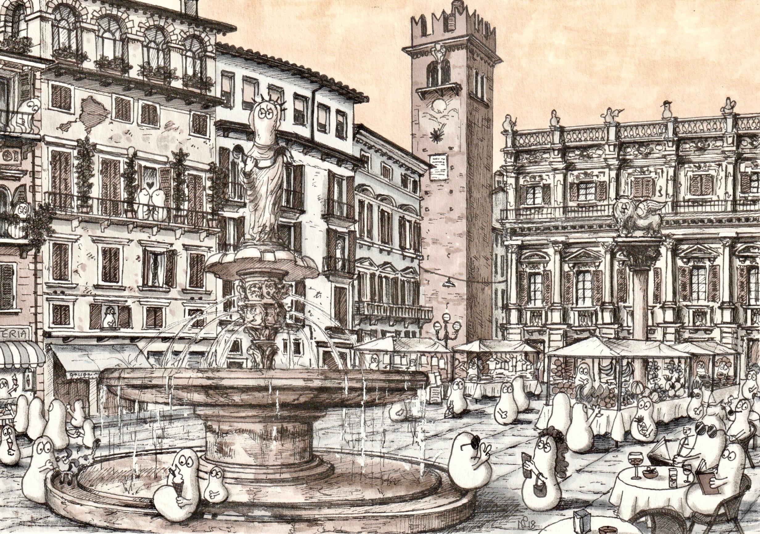 Norms VERONA Piazza Erbe