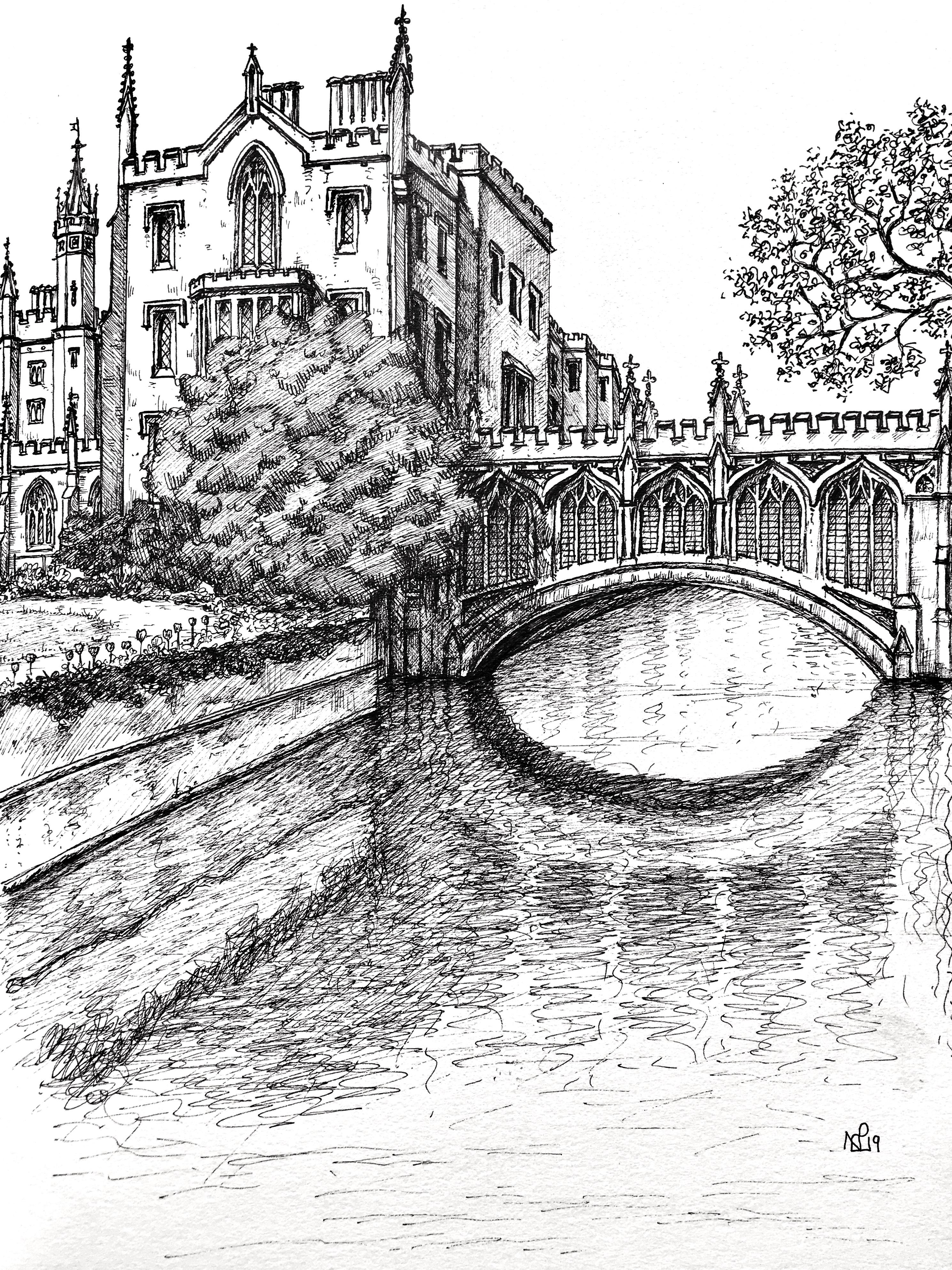 St Johns sketch