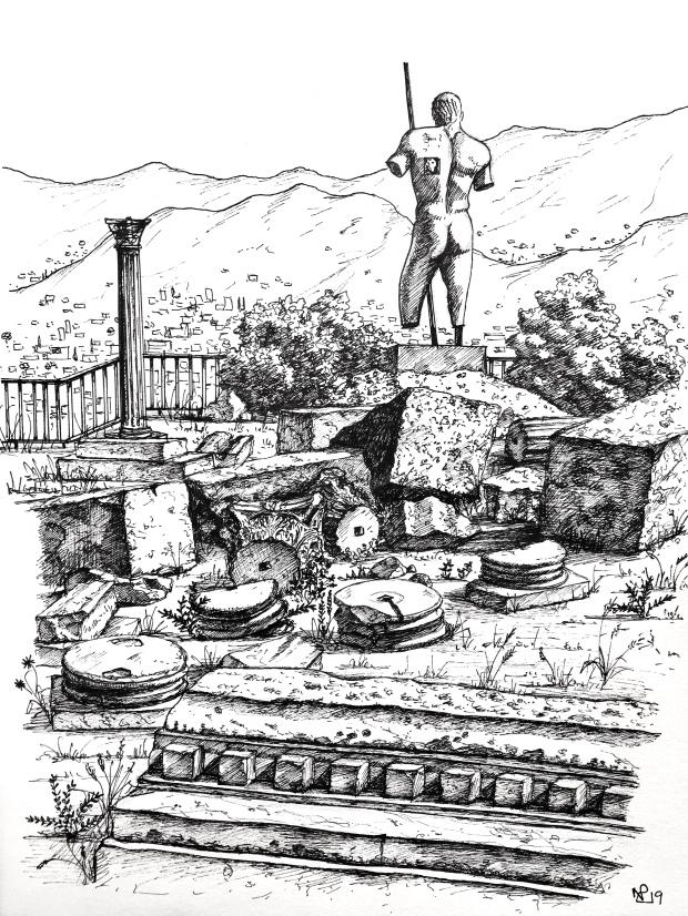 Pompeii Sketch
